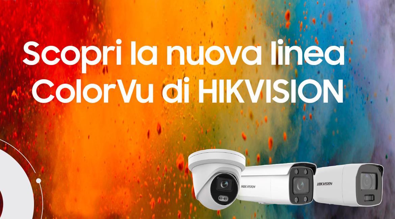 Le telecamere Hikvision ColorVu® vincono sul buio